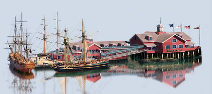 The Boston Tea Party Ships & Museum